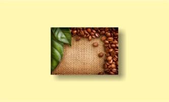 лист мешок кофе